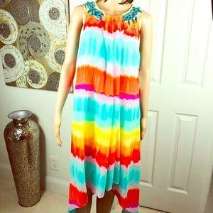 🧡🧡 Beautiful Rafaella colorful dress 🧡🧡